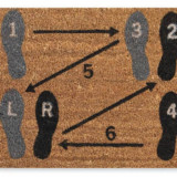 Dance Step Doormat