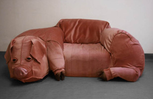 Pig Out on the Pig Couch