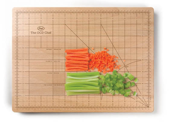 A Cutting Board For Left Brainers