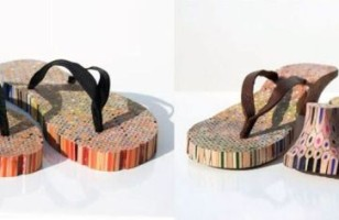 Pencil Flip Flops Draw The Eye To Your Feet