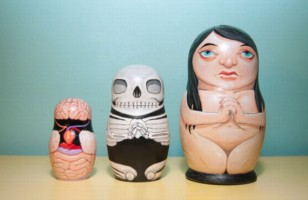 Anatomical Nesting Doll Proves That It's What's Inside That Counts