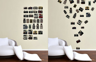 Camera Wall Decals Capture Your Home's Style