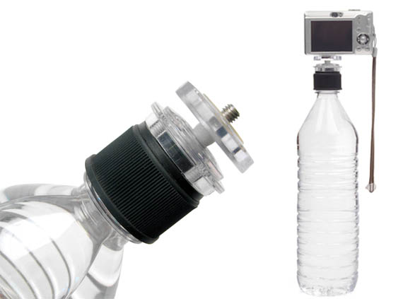 Amateur Photographers Get Their Feet Wet with the Bottle Cap Tripod