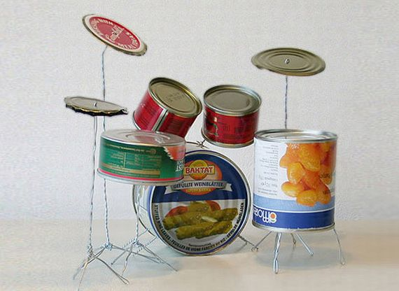 This Drum Set Is Just Waiting For A Tiny Band