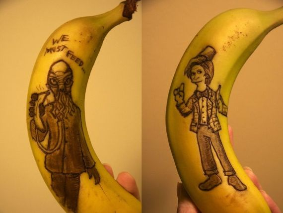 Bananas Are The New Sketchbooks