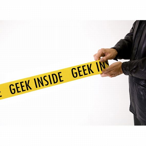 Geek Crime Scene Tape Helps You Block Off Important Areas