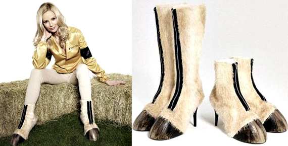 Bring Sexy Back (to the farm) With Horse Hoof Shoes