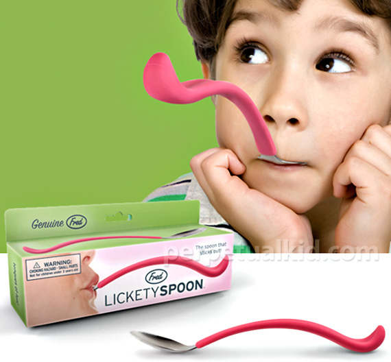 Lickety Spoon Lets Kids Play With Their Food