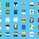 Minimalist Video Game Characters Poster