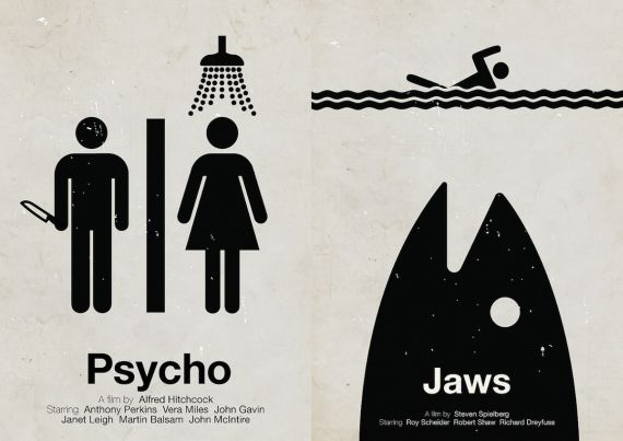 Simplify Things With These Pictogram Movie Posters