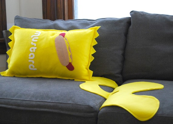 Go Ahead, Spill Mustard On The Couch