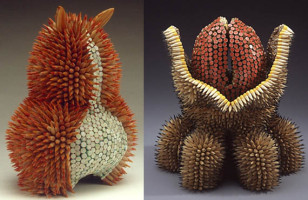 Sculptures Drawn to Life with Pencils