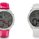 Phosphor Appear Crystal Watch