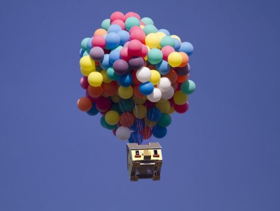 "Soar Through the Air in the Real Life ""UP"" House"