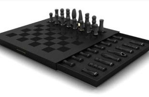Play with Yourself or a Friend with this Sexy Chess Set