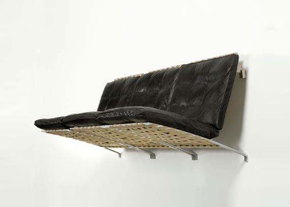 You Ll Never Lose Your Keys Under The Suspended Sofa