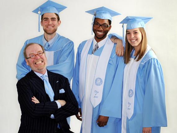 UNC Graduation Gowns Are Made From Recycled Plastic Bottles ...