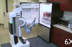 PR2 Robot Fetches Beer, Doesn't Tell You To Get Off Your Lazy Ass And Get It Yourself