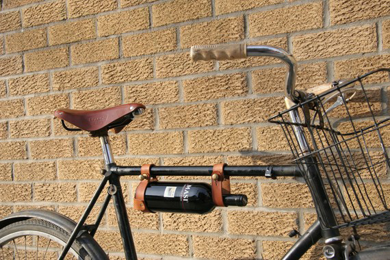 Bicycle Wine Rack Delivers Wine Responsibly