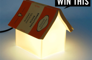 Giveaway: Book Rest Lamp: ENDED