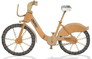 The Re-Cycle Cardboard Bike Is The Perfect Use For Old Boxes