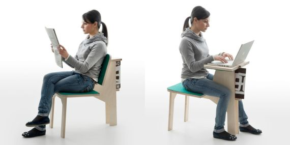 Sometimes You Want A Chair With A Back, Sometimes You Want A Work Table