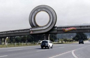 Ever Wonder What It Would Be Like To Drive On A Hot Wheels Track?