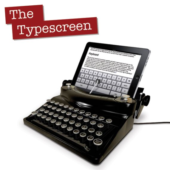 Turn Your iPad Into A Typewriter