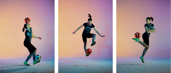 Freestyle Soccer Player Indi Cowie Isn't Just Good for a 16 Year Old Girl