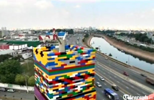 Behold The Tallest Thing Ever Made With LEGOs