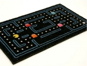 The Pac-Man Doormat Welcomes Guests Into Your Maze