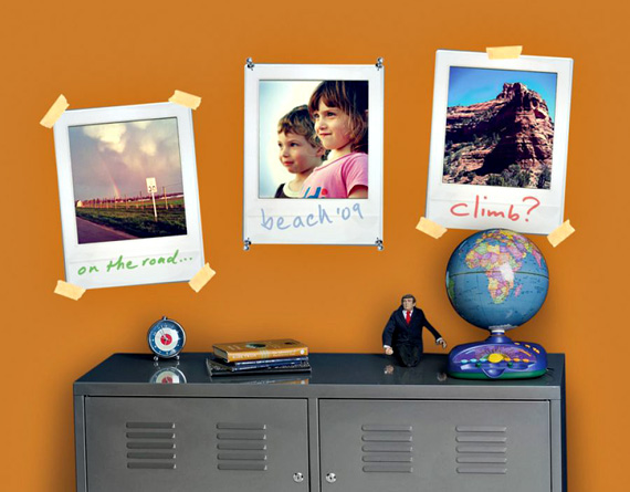 Polaroid Style Frames Add Instant Charm To Walls