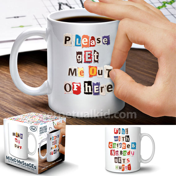 Take Morning Hostage With Mixed Messages Mug