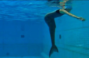 Special Effects Team Creates Real Life Mermaid