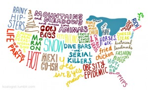 United States Stereotypes Map Tells It Like It Is
