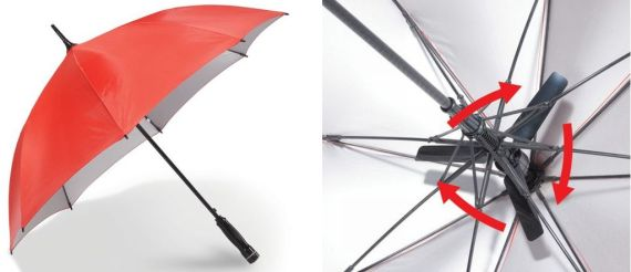 Stay Cool With The Fanbrella
