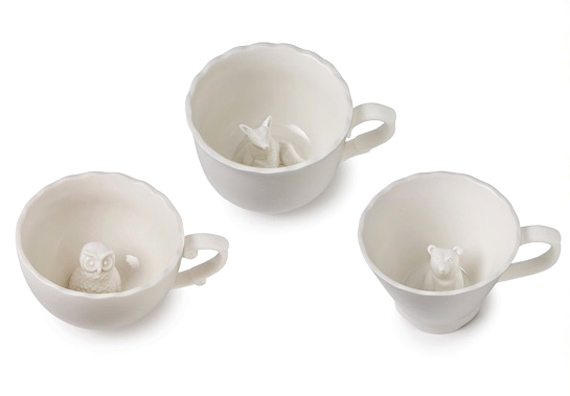 hidden animal mugs serve up a surprise incredible things