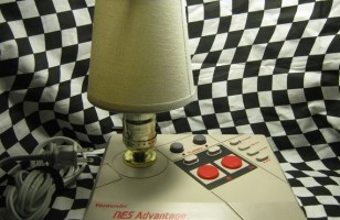 Use The NES Advantage Lamp To Light Up Your Game Room