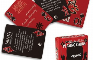 Learn To Be A Better Ninja Thanks To These Playing Cards