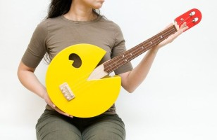 Pac Man Rocks Out With This Ukulele
