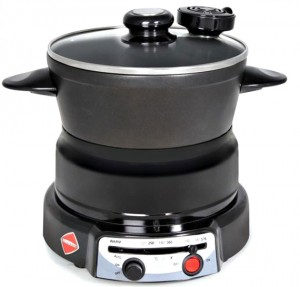 Lazy Folks Can Cook With A Self Stirring Electric Pot