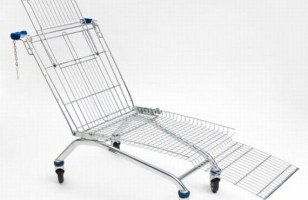 Shop For Groceries In Comfort With The Shopping Cart Lounger