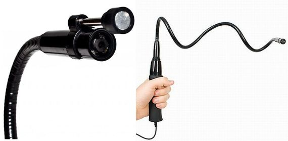 The Snake Scope Flexible Spy Cam Is Perfect For Those Tricky Shots