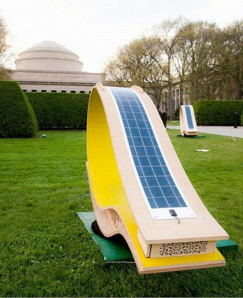 MIT's Soft Rockers Provide Solar Power And Style