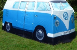 Follow Your Favorite Band Into The Woods With The VW Van Tent