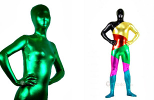 Zentai Suit Makes You Shiny And Metallic