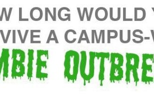If A Zombie Outbreak Hit Your Campus, How Long Would You Last?