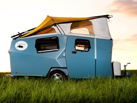 Only NASA Could Design a Camping Trailer This Cool