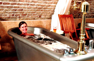 Relax in A Tub Filled With Beer