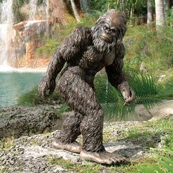 Scare Small Children With The A Garden Yeti Statue